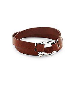 Miansai | Leather Screw D-Link Clasp Bracelet