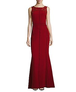 Marchesa Notte | Embroidered Gown