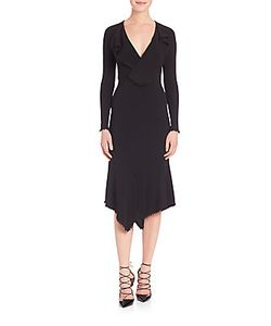 Yigal Azrouel | Draped Matte Jersey Dress