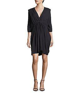 Vivienne Westwood   Pleated V-Neck Dress