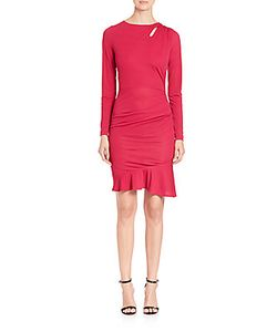 Roberto Cavalli | Ruched Jersey Dress