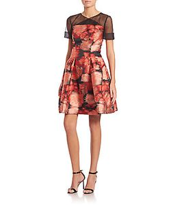 Carolina Herrera | Jacquard Cocktail Dress