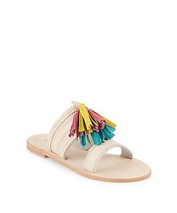 Antik Batik | Kasa Tassel Leather Open Toe Sandals