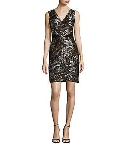 J. Mendel | -Printed Sheath Dress