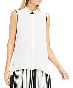 Vince Camuto | Collared Button Down Blouse