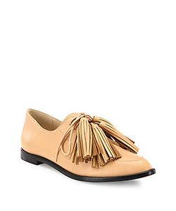 Loeffler Randall | Jasper Tassel Leather Oxfords