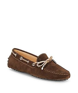Tod's | Leather Slip-On Driving Loafers
