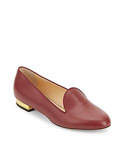 Charlotte Olympia | Abc Leather Loafers