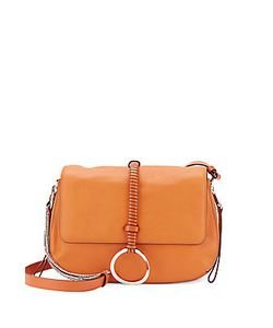 Halston Heritage | Halston Leather Saddle Bag