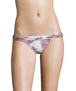 Vix Swim | Krishna Printed Low-Waist Bikini Bottom