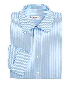 Saint Laurent | Cotton Long-Sleeve Dress Shirt