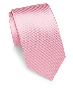 Saint Laurent | Textured Italian Silk Tie