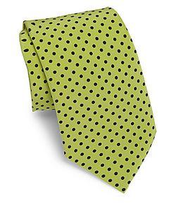 Dolce & Gabbana | Silk Polka-Dotted Tie