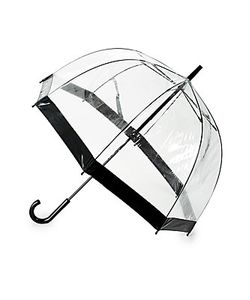 Saks Fifth Avenue | Birdcage Stick Umbrella