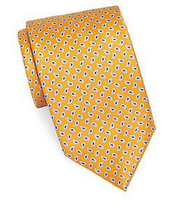 Brioni | Paisley-Print Silk Tie