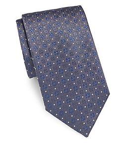 Brioni | -Textured Silk Tie