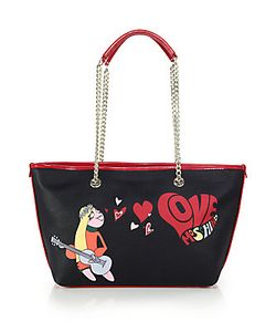 Love Moschino | Harmony Love Faux Leather Tote
