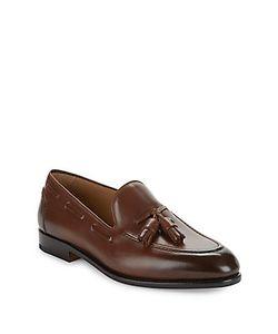 Salvatore Ferragamo | Leather Tassel Loafers