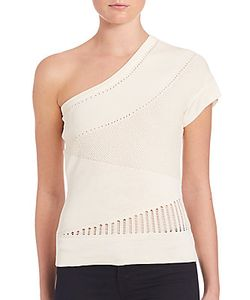 Ohne Titel | Knit One-Shoulder Top
