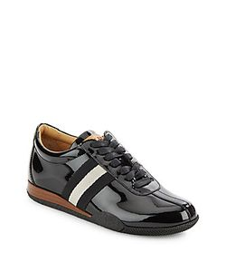 Bally | Leather Lace-Up Sneakers