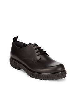 Valentino | Leather Lace-Up Shoes