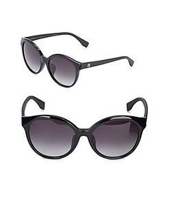 Fendi | Oval Gradient Sunglasses56mm