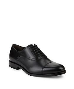 Salvatore Ferragamo | Leather Cap Toe Oxfords