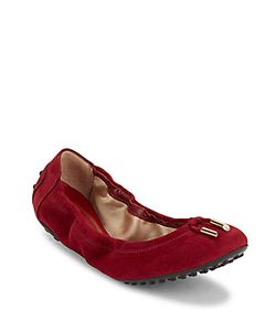Tod's | Round-Toe Leather Ballet Flats