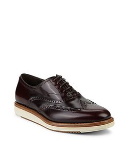 Salvatore Ferragamo | Leather Wingtip Oxfords