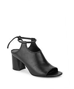 3.1 Phillip Lim | Drum Leather Block-Heel Sandals