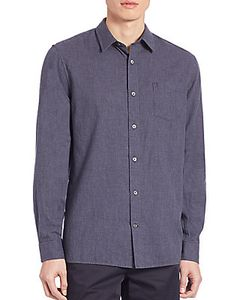 Vince | Double Weave Melrose Shirt