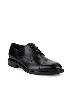 Salvatore Ferragamo   Leather Derby Shoe