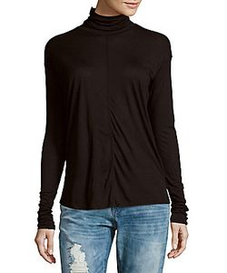 Rag & Bone | Payton Solid Turtleneck Tee