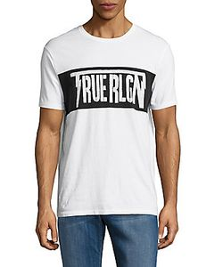 True Religion | Cotton Logo Tee