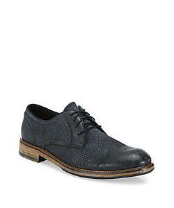 John Varvatos | Sid Leather Derby Shoes