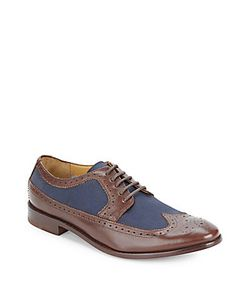 Michael Bastian | Leather Wingtip Oxfords