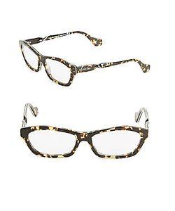 Balenciaga | 55mm Tortoiseshell Optical Glasses