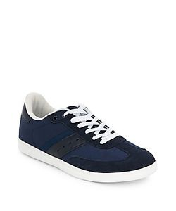 Penguin | Textured Leather Sneakers