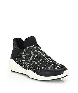 Ash   Quartz Woven Sneakers