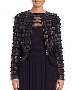 Tamara Mellon | Warrior Paneled Leather Jacket