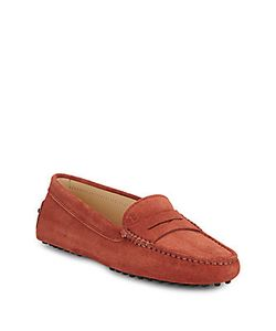 Tod's | Gommini Studded Leather Penny Loafers