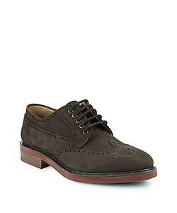 Salvatore Ferragamo   Leather Plain Toe Oxfords