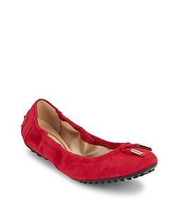 Tod's   Bow-Detail Leather Ballet Flats