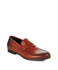HARRYS OF LONDON | Leather Penny Loafers