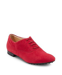 Tod's | Lace-Up Leather Oxfords
