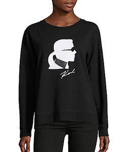 Karl Lagerfeld | Signature Logo Sweatshirt