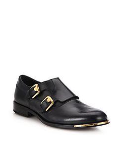 Versace | Medusa Hardware Double Monk-Strap Shoes