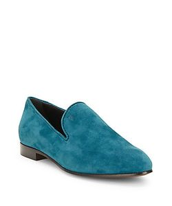 Tod's | Leather Almond-Toe Loafers