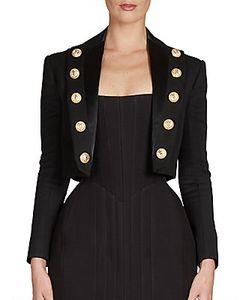 Balmain | Wool Button Jacket