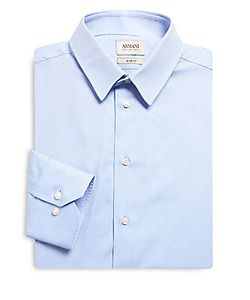 Armani Collezioni | Cotton Slim-Fit Dress Shirt